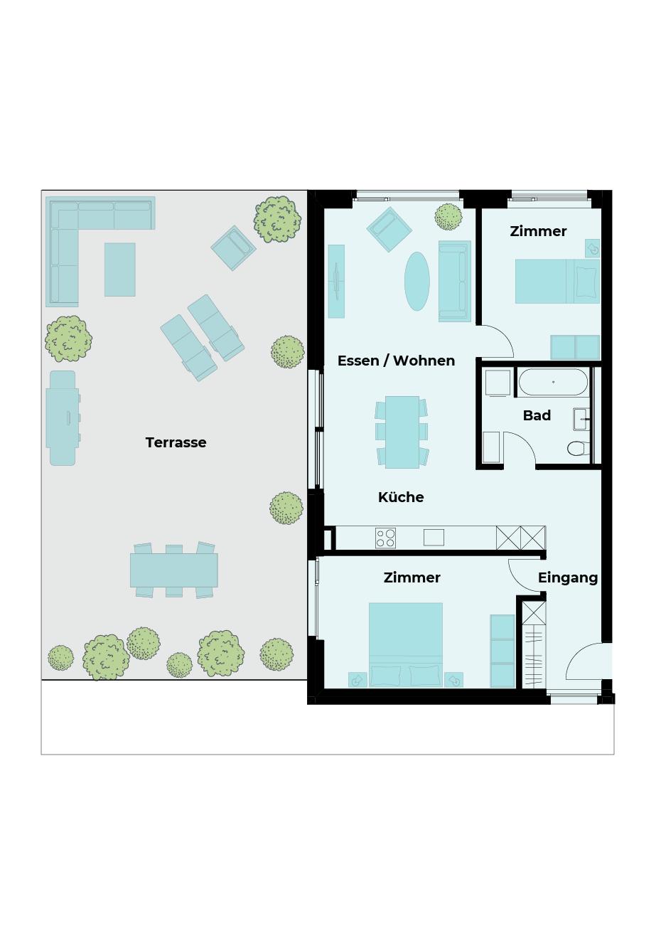3½ Zimmer Wohnung