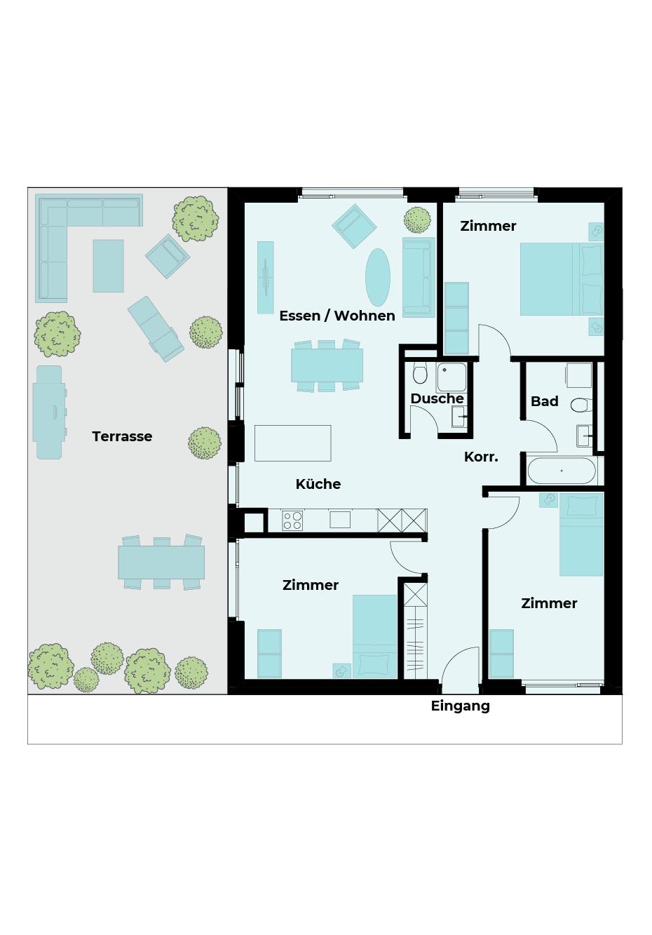 4½ Zimmer Wohnung